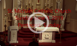 Mass from Sunday, June 9, 2019