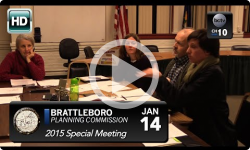 Brattleboro Planning Commission: Special Mtg 1/14/15