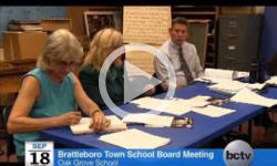 Brattleboro Town School Bd. Mtg. 9/18/13