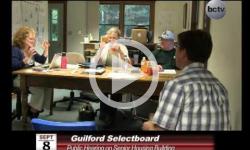 Guilford Selectboard Mtg 9/8/14