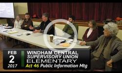 WCSU Elementary Act 46 Public Info Mtg 2/2/17