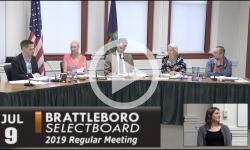 Brattleboro Selectboard Mtg 7/9/19