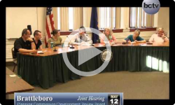 Brattleboro PC/DRB Joint Hearing - 5/12/14