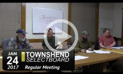 Townshend Selectboard Mtg 1/24/17
