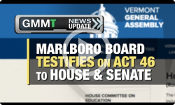 GMMT: Marlboro Testifies on Act 46 1/31/17 (News Clip)