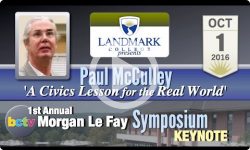 Landmark College presents: 1st Annual Morgan Le Fay Symposium Keynote 10/1/16