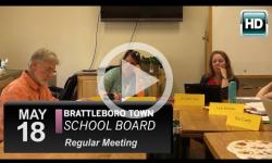 Brattleboro Town School Bd Mtg 5/18/16
