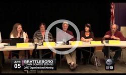Brattleboro Town School Board Mtg. 4/5/17
