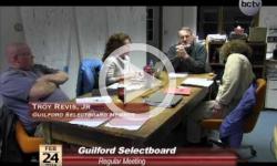 Guilford Selectboard Mtg. 2/24/14
