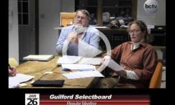 Guilford Selectboard Mtg 1/26/15