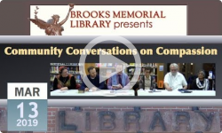 Brooks Memorial Library Events: Community Conversations on Compassion