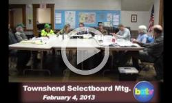 Townshend Selectboard Mtg. 2/4/13