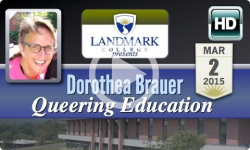 Landmark College Presents: Dorothea Brauer, 'Queering Education' 3/2/15