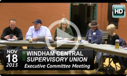 WCSU: Executive Committee Mtg 11/18/15