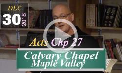 Calvary Chapel: Acts Chp 27