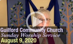 Guilford Church Service - 8/9/20