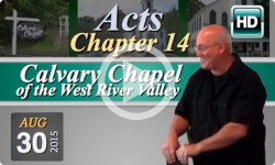 Calvary Chapel: August 30, 2015