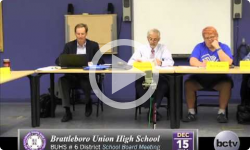 Brattleboro Union High School Bd. Mtg 12/15/14