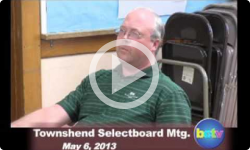 Townshend Selectboard Mtg 5/6/13