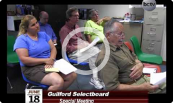 Guilford Selectboard Special Mtg. 6/18/14