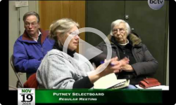 Putney Selectboard Mtg 11/19/14