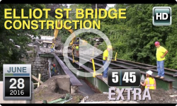 5:45 Live Extra: Elliot St Bridge Construction