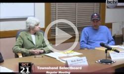 Townshend Selectboard Mtg. 10/21/13