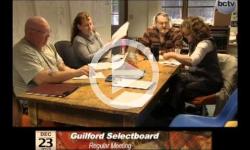 Guilford Selectboard Mtg. 12/23/13