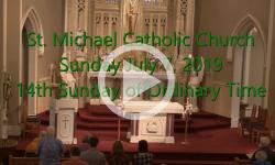 Mass from Sunday, July 7, 2019