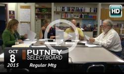 Putney Selectboard 10/8/15