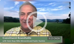 Community Forum: With VT State Reps Mike Mrowicki and Nader Hashim 5/23/20