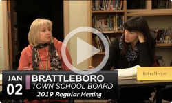 Brattleboro Town School Bd Mtg 1/2/19
