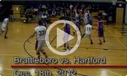 BUHS Boys Varsity Basketball vs. Hartford 12/18/12