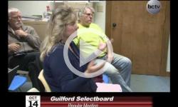 Guilford Selectboard Mtg 10/14/14