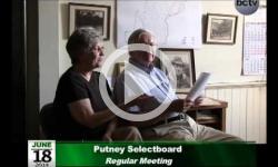 Putney Selectboard Mtg. 6/18/14