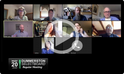 Dummerston Selectboard: Dummerston SB Mtg 5/20/20