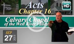 Calvary Chapel: September 29, 2015