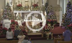 Mass from Sunday, January 10, 2021