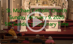Mass from Sunday, February 9, 2020