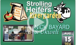 River Garden Brown Bag Lunch Series: Nick Bayard and Ukweli - 8/15/14