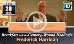 Brattleboro Citizens' Breakfast: Frederick Harrison
