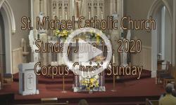 Mass from Sunday, June 14, 2020