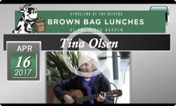 Rivergarden Brown Bag Lunch: Tina Olsen 'Oldtime Folk Songs' 4/16/17
