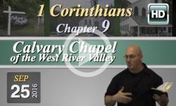 Calvary Chapel: 1 Corinthians, Chp 9