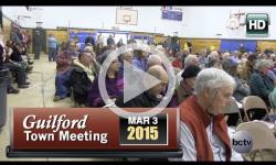 2015 Guilford Town Mtg 3/3/15
