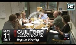 Guilford Selectboard Mtg 5/11/15