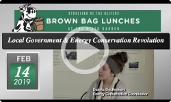 River Garden Brown Bag Lunch Series: Local Government & Energy Conservation Revolution