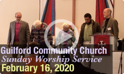Guilford Church Service - 2/16/20