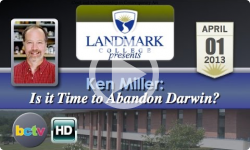 Landmark College presents Ken Miller, 'Is it Time to Abandon Darwin?' - 4/1/13