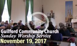 Guilford Church Service - 11/19/17